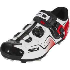 Sidi Cape Chaussures Homme, white/black/red